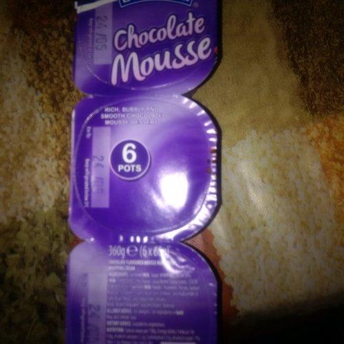 Chocolate Mousse VEGETARIAN 65p - Aldi