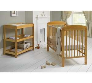 Mamas and Papas 2 piece cot and changer table set was £199.99 now £89.99 (£6.95 delivery) £96.94 delivered @ Argos
