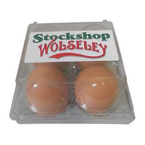 Brown Rubber Eggs only £3.49 collect from screwfix or + delivery