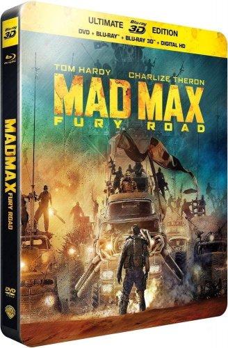 Mad Max Fury Road Steelbook £12.33  (Bluray 3D, Bluray & DVD) Amazon.fr