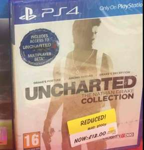 Uncharted Collection PS4 instore @ Asda -  East Sussex  £12 New