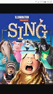 Sing movie - £13.99 (£8.99 with £5 voucher) @ Sky Movies