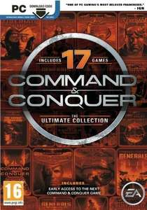 Command and Conquer: The Ultimate Edition PC @ CDKEYS (£ 3.99 FB CODE 5% £3.79)