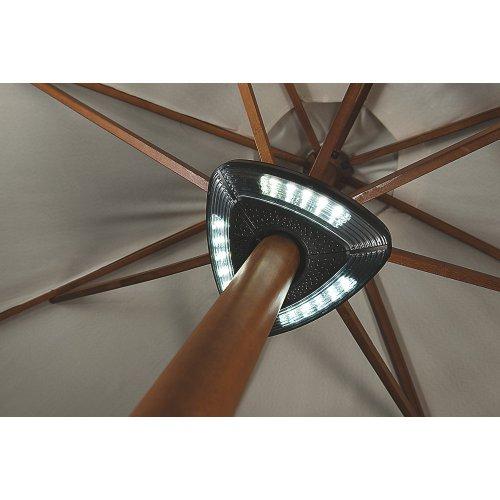 Cole & Bright Gardman 15 led parasol light now £9.99 @ Screwfix