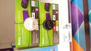 Roku streaming stick £10 in store Asda -  Chapeltown, Sheffield