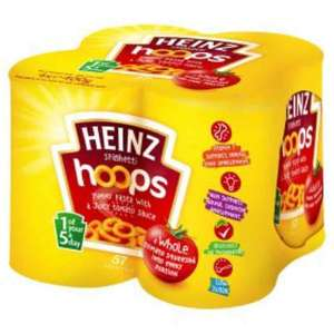 heinz 4 pack spaghetti - £1 instore @ bolton farmfoods