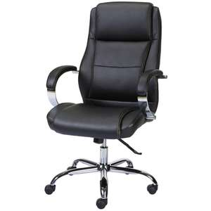Staples Surfline Bonded Leather Executive Chair £56.96 @ Staples