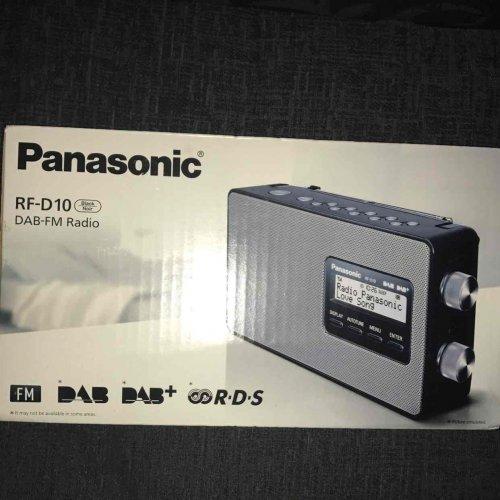 Panasonic DAB digital radio from ASDA - £16 instore @ Asda