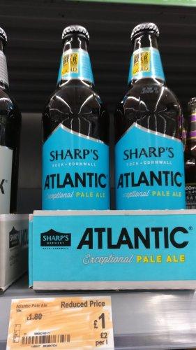Sharp's Atlantic Pale Ale 500ml - £1 instore @ Asda