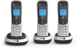 BT 2100 Trio - Dect cordless phone - Triple Pack £36.99 Sold by The Tech Warehouse and Fulfilled by Amazon