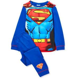 Kids Superhero Novelty Cape Pyjamas - was £14 now £6.99 delivered @ Zavvi