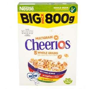 Nestle Cheerios (800g) ONLY £1.99 @ Poundstretcher