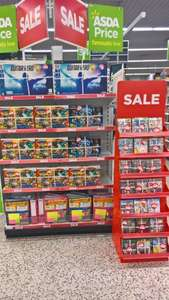 Games reduced from £2 ASDA Farnborough