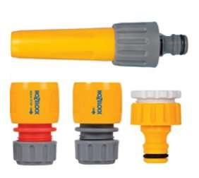 Hozelock 2352 Hose Fitting Starter Set.  £5.99 (Prime) £6.16 (non prime - 3rd party) @ Amazon