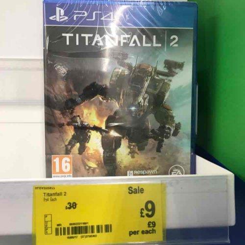 Titanfall 2 PS4 Asda £9 Instore