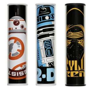Star Wars Universal Portable External Battery USB Power Bank 2600mAh RRP £15.00 now £5.00 + Free Click & Collect £5.00 at eBay / Halfords