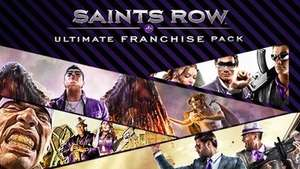 Saint's Row Ultimate franchise pack (Steam) Saints Row 2, 3, 4 plus all DLC £9.99 @ Bundlestars