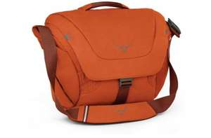 Osprey Flap Jack 20L Courier Bag - Orange Only At This Price - £19.99 C&C or £1.99 Cheapest Delivery - £30 saving @ Evans