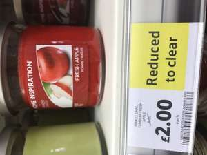 Yankee candles only £2 @tesco