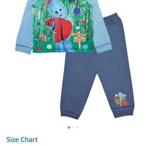 in the night garden pyjamas 18-24 months £1.51 + £3.99 delivery from Amazon/Lora Dora