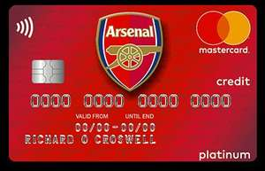 Football credit cards from MBNA with upto 29 month 0% purchase