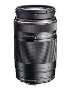 Olympus M.ZUIKO Digital ED 75-300 mm 1:4.8-6.7 II Lens - Black £314.00 @ Amazon + £75 Olympus Cashback = £239
