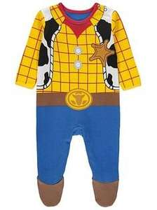 Disney Woody 100% Cotton Sleepsuit First Size - 18mths now £4 C+C @ Asda George (also Buzz)