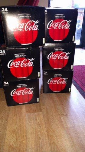 coca cola zero 24 pack £2.50 instore @ Beverley Tesco
