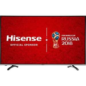 Hisense H49M3000 49 Inch Smart LED 4K Ultra HD Freeview HD TV £349 Delivered @ AO / eBay
