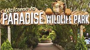 Family four (2A/2C) tickets to Paradise Wildlife park AND Hotel stay from £21pp @ Virgin Exp/Travelodge using code