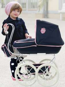 Hauck Classic Navy Dolls Pram (was £42.99) Now £24.99 + Free click and collect at Very