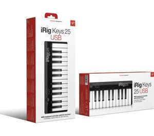 iRig 25 Note portable MIDI Controller keyboard - £14.98 (C&C Only) @ Currys