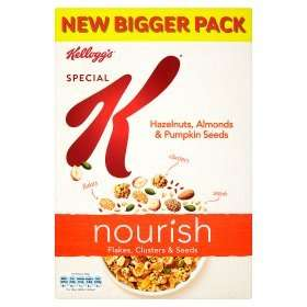 Kellogg's Special K Nourish Flakes Clusters & Seeds Hazelnuts Almonds & Pumpkin Seeds, 440g for £2.00, was £3.99 @ Asda