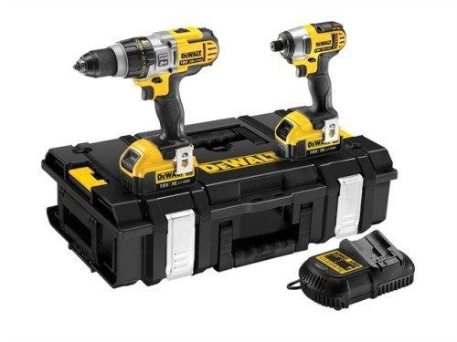 DeWalt Premium Combi Drill & Impact Driver Kit 18 Volt - £329.95 @ UK Tool Centre