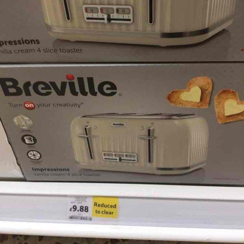 Retro Breville 4 Slice Toaster £9.98 (Tesco)