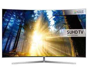 Samsung UE55KS9000 55 inch SUHD 4K HDR Premium Curved TV with Free 4K blue ray player (was sound bar) £1199 @ Crampton & moore