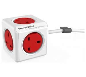 ALLOCACOC Powercube 5-Socket Extension Cable - 3 m £5.97 @ currys