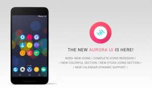 Aurora Icon Pack - Free on Google Play Store
