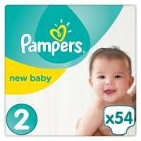 Pampers (2x54 for size 2); 2 for £10 plus PYO 20% off at Waitrose = 7.4p / nappy