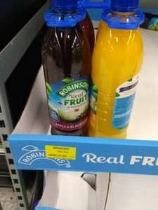 Robinsons Real Fruit (x4 1 litre bottles) £1.50 Asda instore