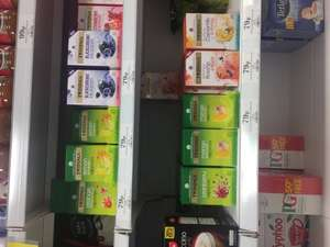 Selection of Twinings green and fruit teas all 79p in Homebargains usually £1.99 each!