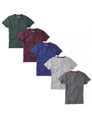 5 pack crew neck t-shirt - £13.95 Charles Wilson