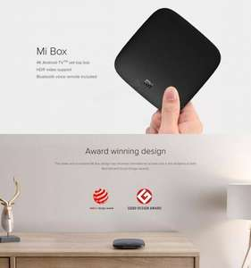 Xiaomi Mi Box Amlogic S905X 2.0 GHz 2GB/8GB AndroidTV Box - Google Cast, Voice Controlled Remote,4K, Android TV 6.0 £43.86 @ Banggood (Use voucher 20MiBox52 or 20MiBox53)