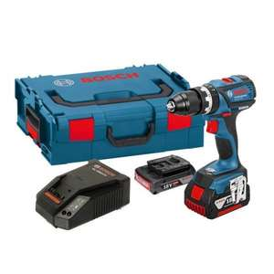 Bosch GSB 18 V-EC Brushless Combi Drill Inc 2 x Batteries in L-Boxx £155.99 Priority Plumbing
