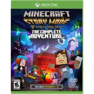 Minecraft Story Mode The Complete Adventure Xbox One £5 @ ASDA