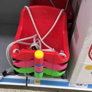 Tesco Safety baby Swing - £2.50 instore