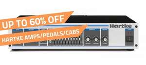 PMT upto 60% off Hartke Bass gear @ pmtonline