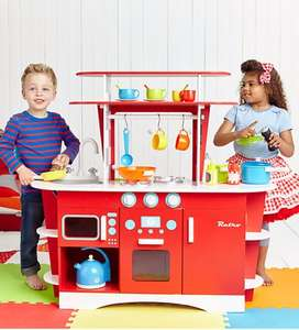 Wooden Retro Diner Kitchen (was £150) now £75.00 delivered @ ELC