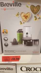 Breville VBL139 Blend Active Accessory Pack @ sainsbury's alder Hill poole was £33 now £16.50