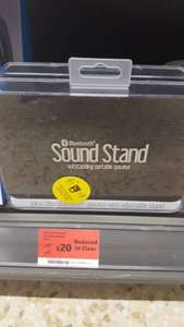 Juice Sound Stand Bluetooth Active Speaker - Black @sainsburys alder Hill poole.. was £45..now £20